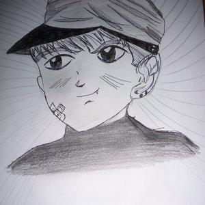 Personaje original de estilo manga.