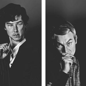 Sherlock_and_John_bw_358589.png