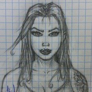 Chica (mini-boceto)