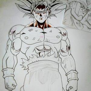 Son Goku Ultra Instinto Dominado