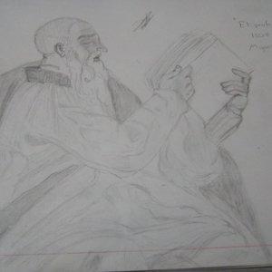 Profeta Zacarias de Miguel Angel.