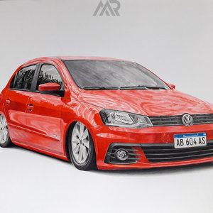 VW Gol G7 Air Suspension