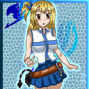 Lucy Fan art Fairy tail