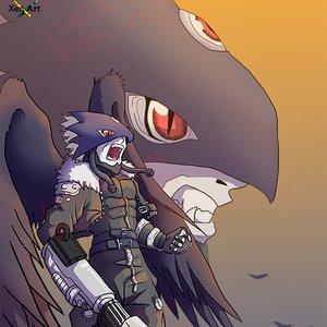 Beelzemon Blast Mode - Fan art from Digimon Tamers