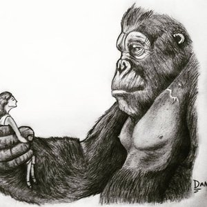 Boceto King Kong