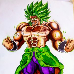 Broly Canon Fan Art
