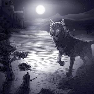 El gran lobo gris