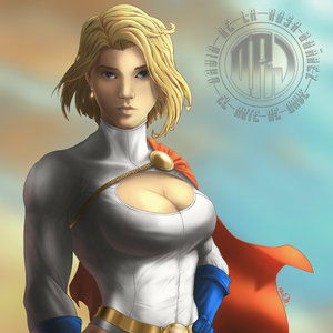 Power girl - fan art