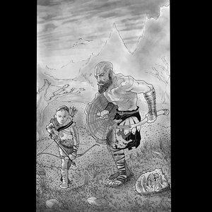 Kratos e hijo