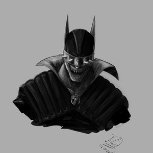 mi version de batman who laughs