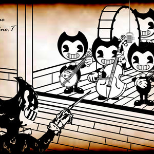 Bendy and the ink machine fanart by enrique palomino