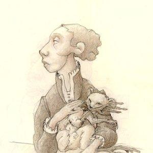 retrato con mascota