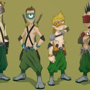 Humanos ninjas adolescentes mutantes