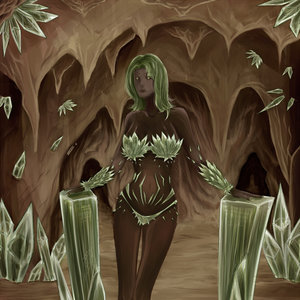 Crystal Cave Lady