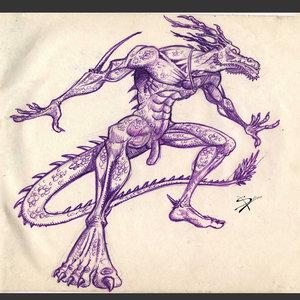 Drackof - Dragon Negro - necrocronicas
