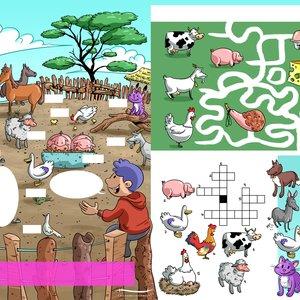 ilustraciones para revistas infantiles