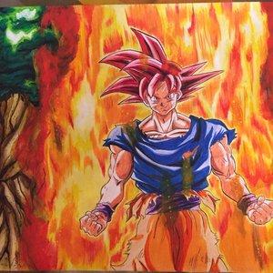Goku Super Saiyajin Red (Torneo de poder)