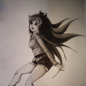 Chica feliz