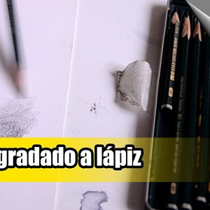Cómo empezar a dibujar comics | 14ª clase | Degradado de lápiz