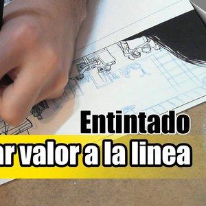 Cómo empezar a dibujar comics | 15ª clase | Entintando viñeta