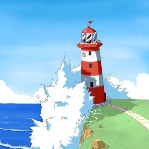 Farol de mar.