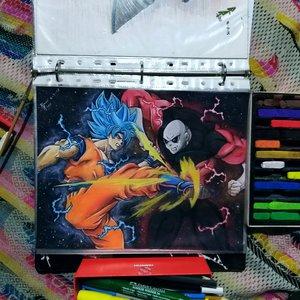 Goku vs jiren, pedido.