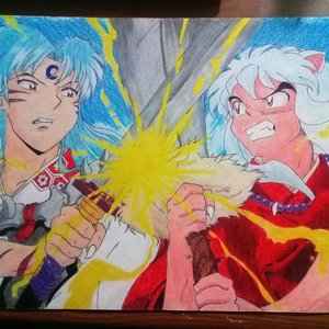 Inuyasha vs Sesshoumaru