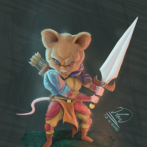 MOUSE WARRIROR