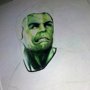hulk dibujo en proceso! Avengers End Game