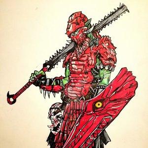 Cazador Rojo del pantano