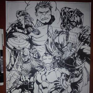 Avengers Asemble (comic style)