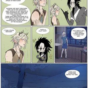 Cuarta página de mi comic | Cedric y Espettro