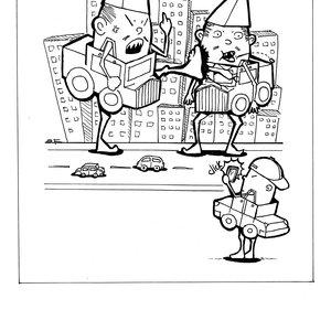 Caricatura de humor