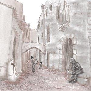 Boceto aldea