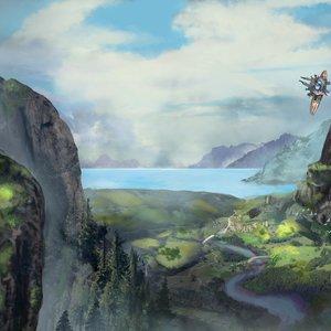 Landscape de ficción