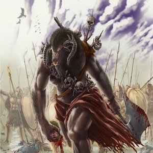 Minotauro para Mythology Hellas Conquest