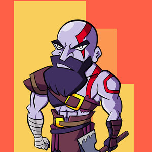 Kratos de God of war