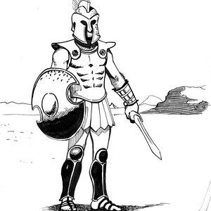 Soldado griego