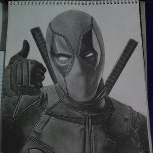 Deadpool A Lapiz⚔