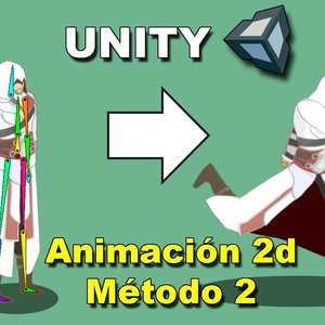 Como hacer una animacion 2D en Unity (Metodo 2)