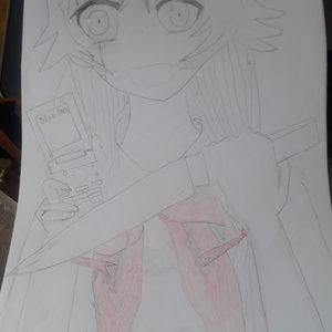 Yuno gasai (Mirai Nikki)