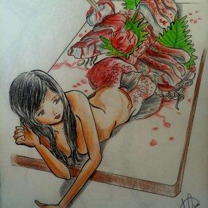 Sashimi de sirena