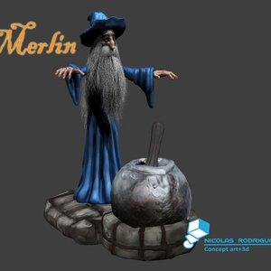 Merlin, mago entre magos