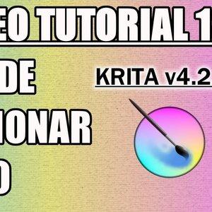 Tutorial 13 Krita en Español - Menus (Seleccionar y Filtro)