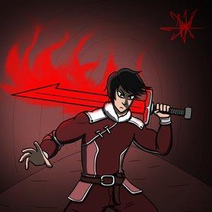 Un Men con una Espada