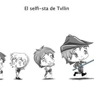 El selfie-sta de Tvllin