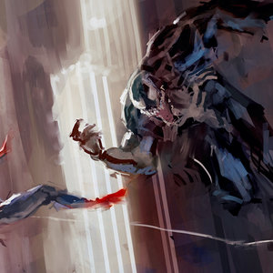Spiderman Vs Venom Speedpaint