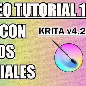 Tutorial 15 Krita en Español - Vectores