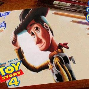 Como Dibujar a Woody de Toy story 4