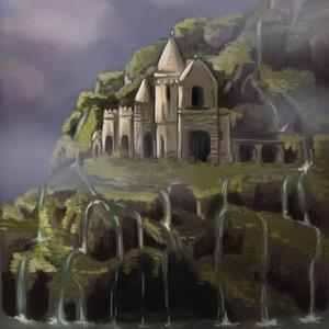 La isla del castillo abandonado
